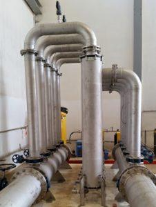 zelfreinigend filtersysteem brak water