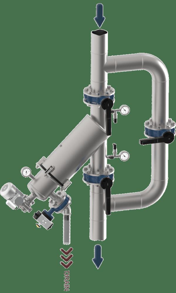 WSAP Y Filtersysteem
