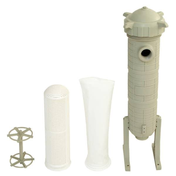 nylon zak met kunststof huis