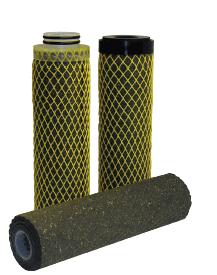 Olie absorberende filterkaars