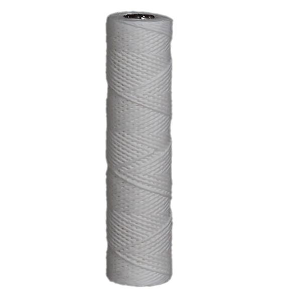 touw filter met rvs kern