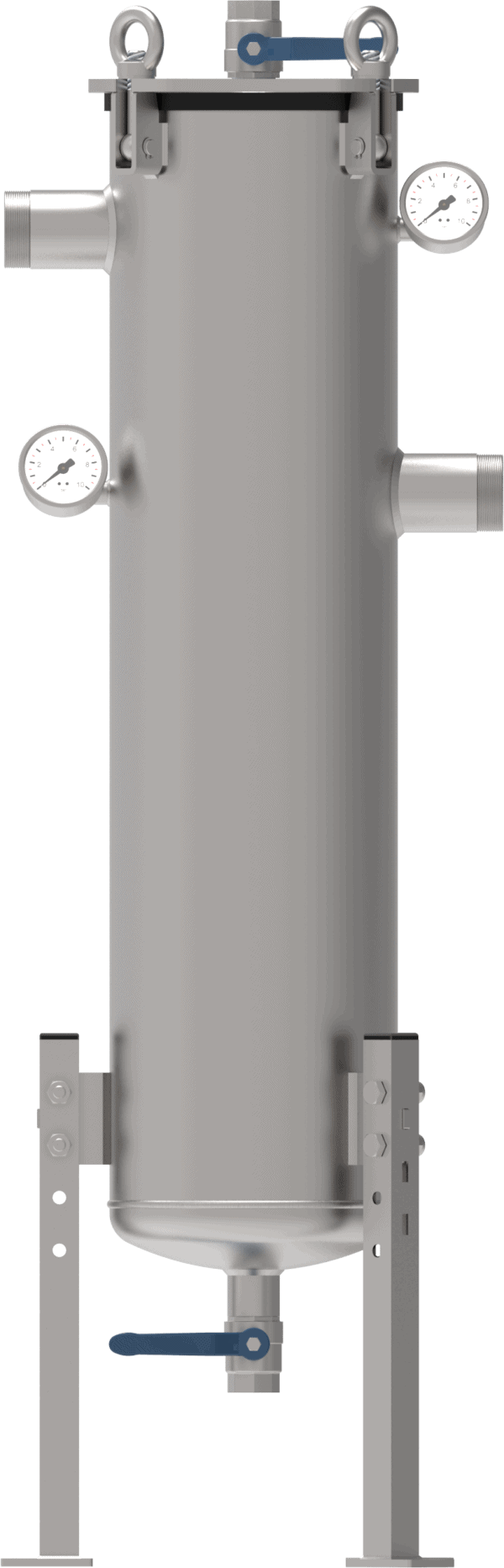 zakken filterhuis