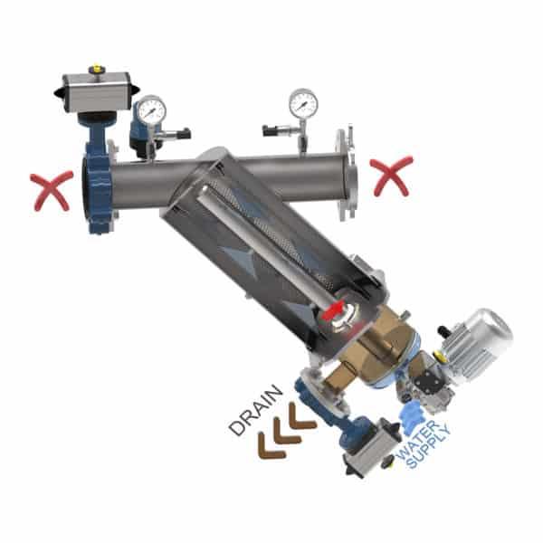 WJET Y WASH 600x600 - Sproeinozzle Technologie