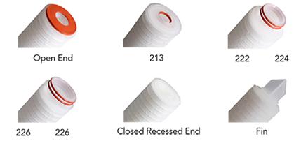 end cap styles - Membraan Filterkaarsen