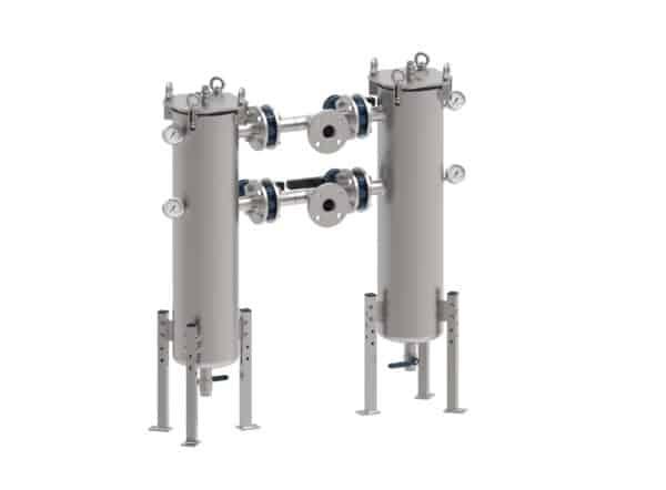 duplex strainers met manometers