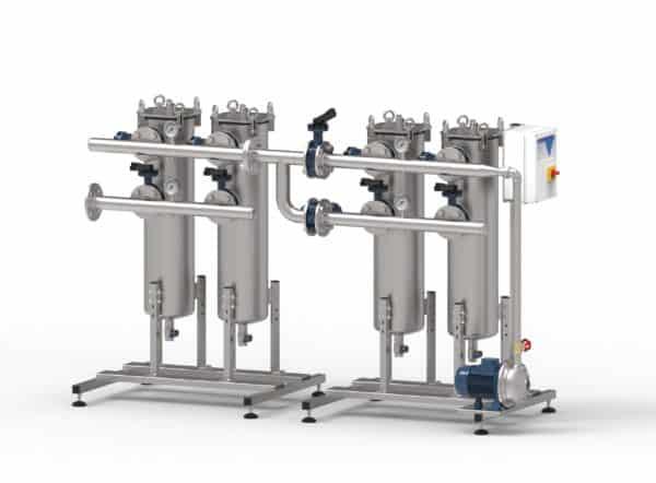 duplex filtersystemen